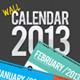 Wall Calendar 2013 - GraphicRiver Item for Sale