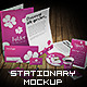 Professional Stationery 3D Mock-Up - GraphicRiver Item for Sale