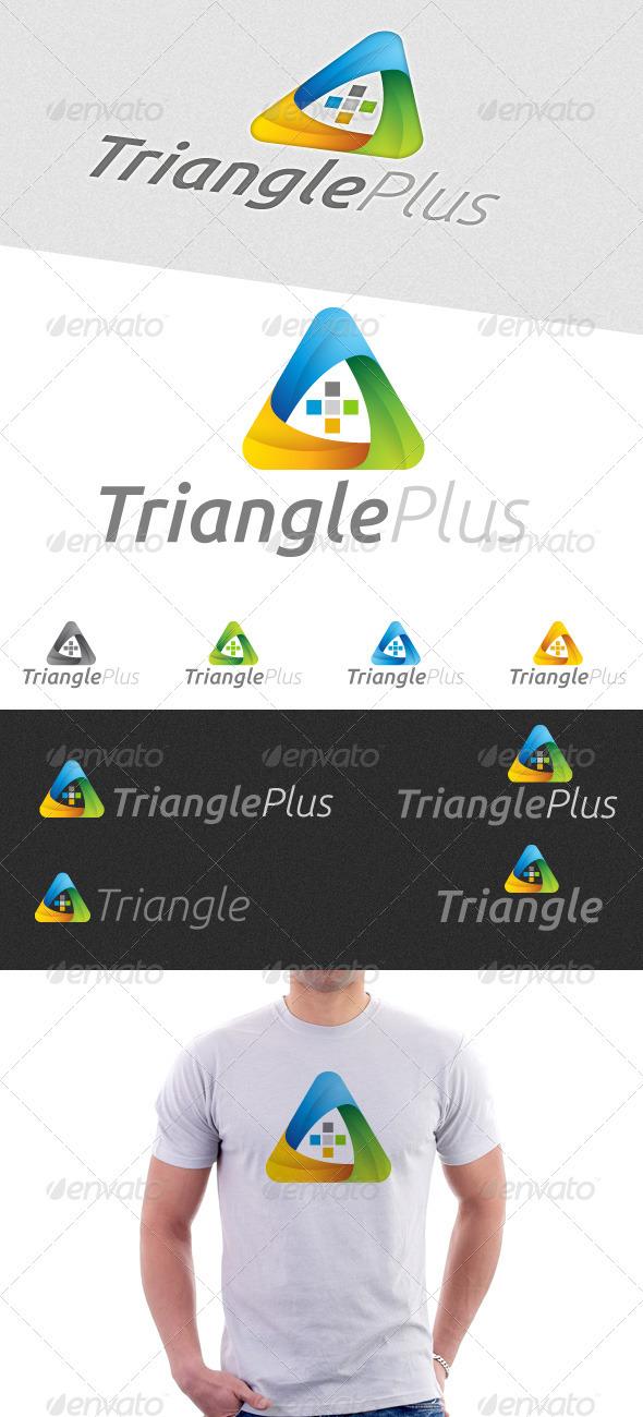 Triangle Plus Logo