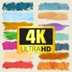 Paint Brush Strokes Lower Thirds - 4K pack - VideoHive Item for Sale