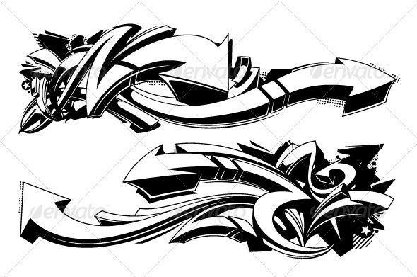 Graffiti Background Graphics Designs Templates