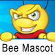 Superhero Bee Mascot - GraphicRiver Item for Sale