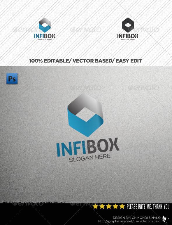 InfiBox Logo Template