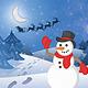 Christmas Snowman - GraphicRiver Item for Sale