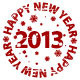 Vector Grunge New Year Stamps - GraphicRiver Item for Sale