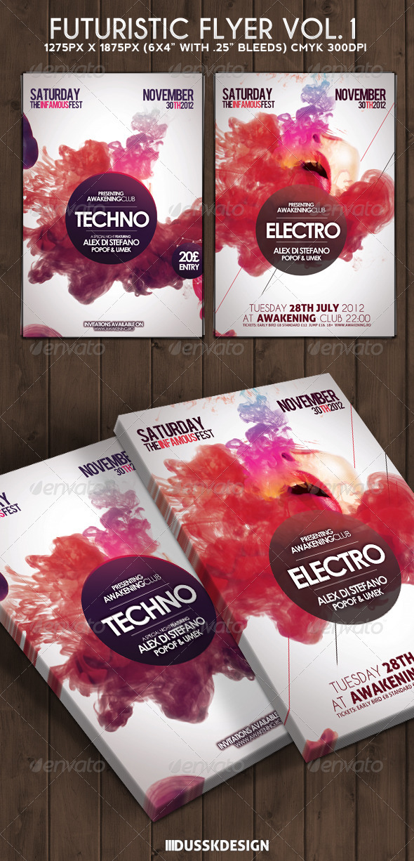 Trance Graphics, Designs & Templates from GraphicRiver