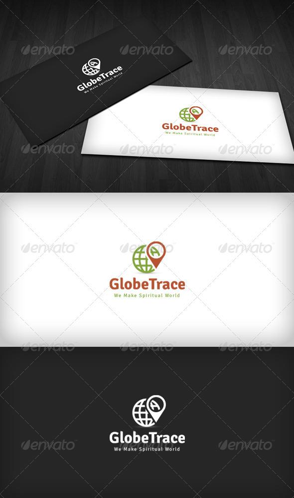 Globe Trace Logo