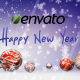 Happy Holidays - Falling Christmas Ornaments - VideoHive Item for Sale