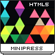 MiniPress - Responsive One Page Template - ThemeForest Item for Sale
