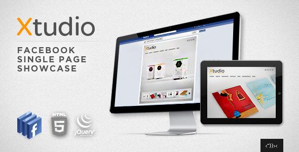 Xtudio - Facebook Single Page Showcase