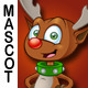 Reindeer Mascot - GraphicRiver Item for Sale