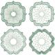 Guilloche Rosette Vol.29 - GraphicRiver Item for Sale