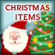 Cute Christmas Items - GraphicRiver Item for Sale