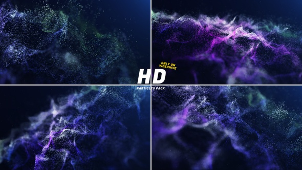Abstract Particles Pack HD
