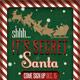 Secret Santa Flyer & Raffle Ticket - GraphicRiver Item for Sale