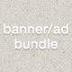 Web Banner/Ad Bundle #1 - GraphicRiver Item for Sale
