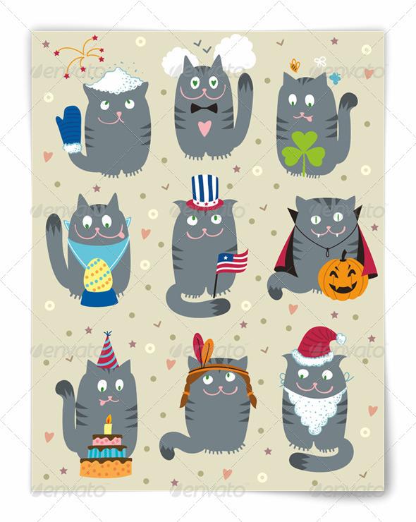 Cats Celebrating Holidays