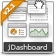 jDashboard - CodeCanyon Item for Sale