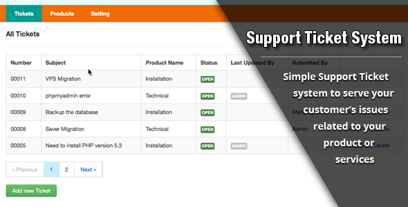 Support Ticket System Download