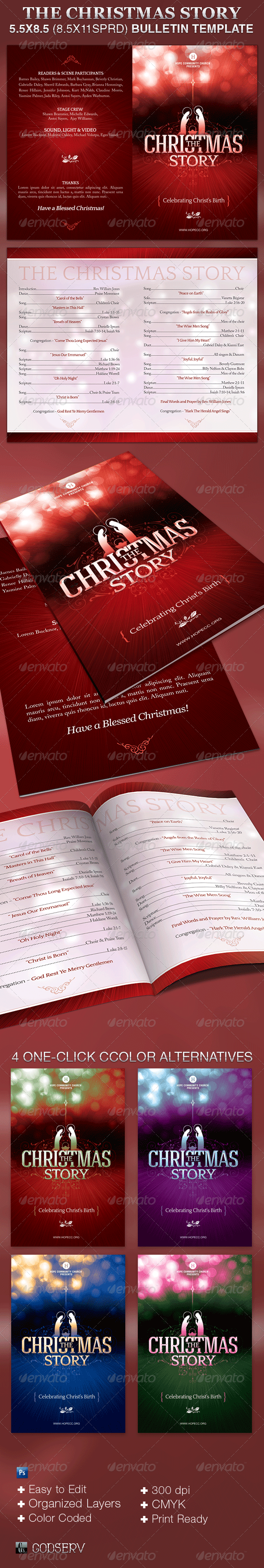 Christmas Story Graphics Designs Templates From Graphicriver