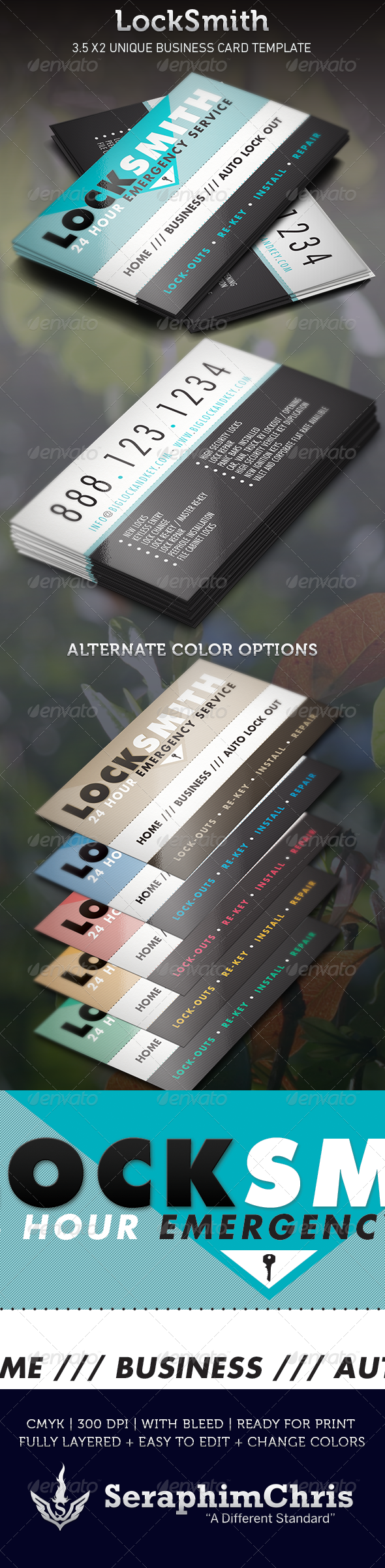Locksmith Graphics Designs Templates From Graphicriver