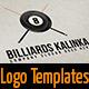 Billiards KALINKA - GraphicRiver Item for Sale