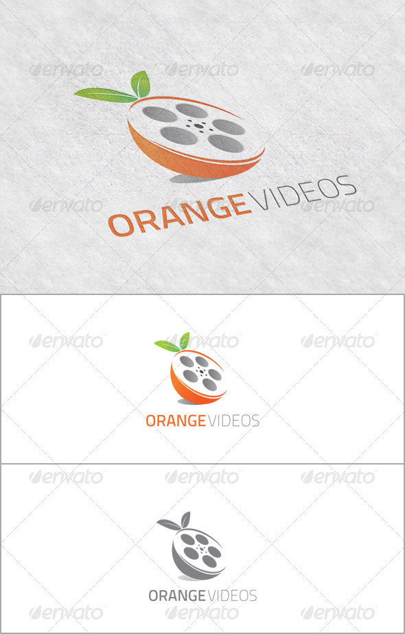 OrangeVideos - Logo for Video Productions