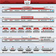 Retro Navigation Menu - GraphicRiver Item for Sale