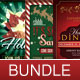 Holiday Flyer Template Bundle - GraphicRiver Item for Sale