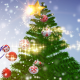 Happy Holidays - Flying Christmas Ornaments - VideoHive Item for Sale