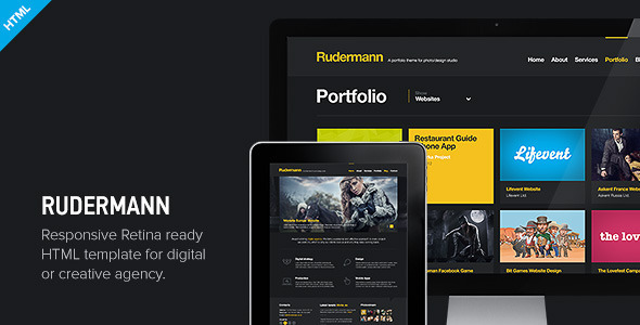 Rudermann - Responsive Retina Ready HTML Template