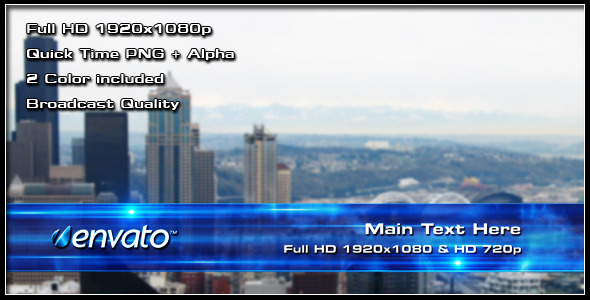 Lower Thirds from VideoHive