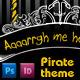Pirate Theme Event Invitation - GraphicRiver Item for Sale