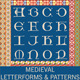 Medieval Letterforms and Patterns - GraphicRiver Item for Sale