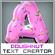 Doughnut Text Creator // almost 700 Combinations - GraphicRiver Item for Sale