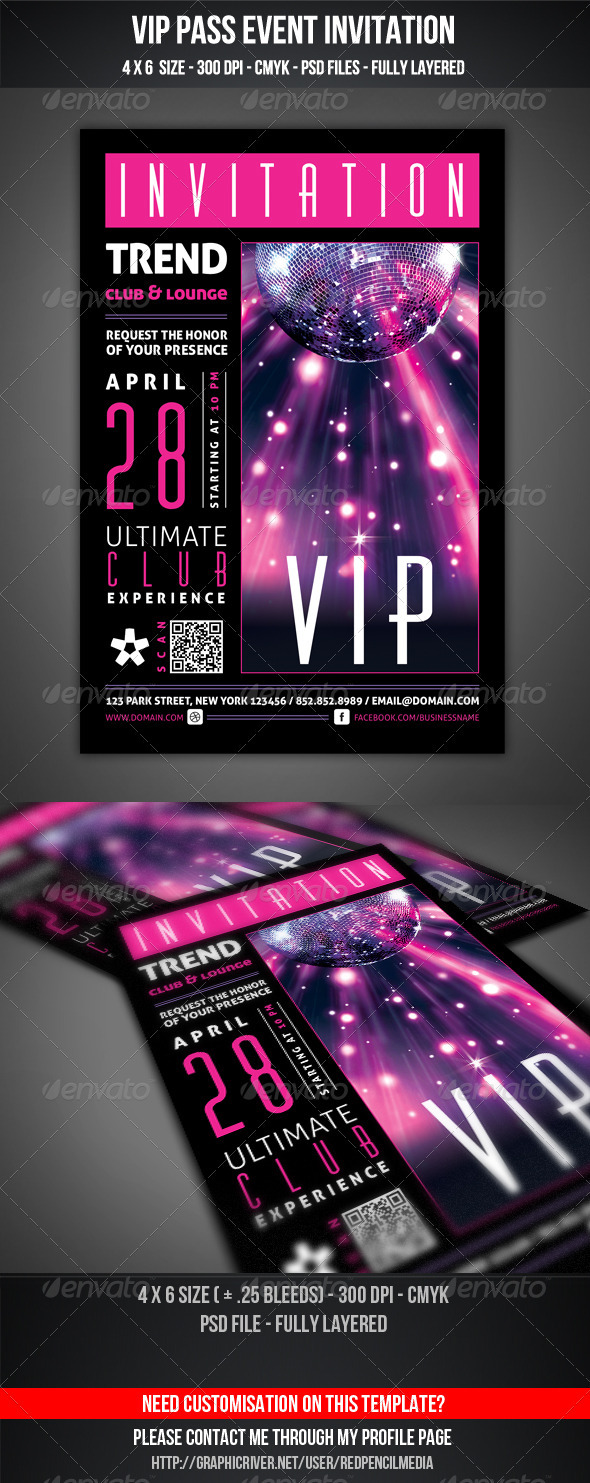 Club and Vip Graphics, Designs & Templates from GraphicRiver