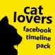 Cat Lovers FB Timeline - GraphicRiver Item for Sale