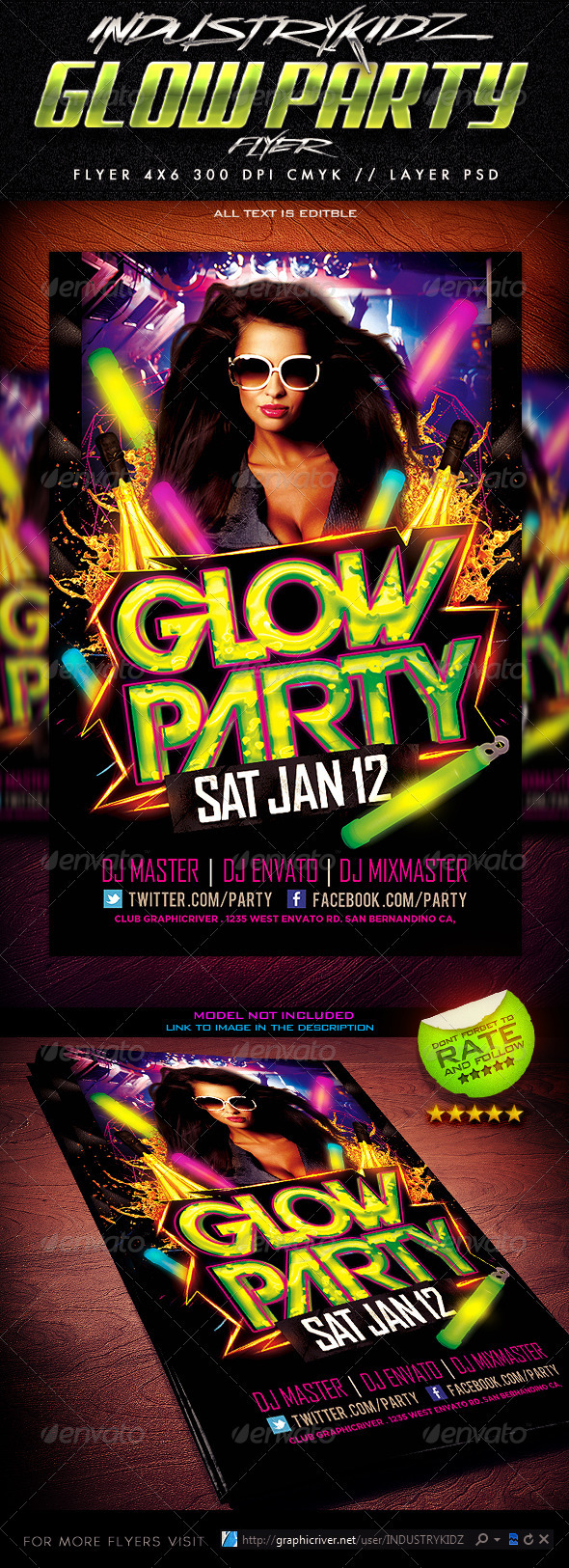 Club & Party Flyer Templates from GraphicRiver
