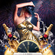 Birthday & Midnight Celebration Party Flyer - GraphicRiver Item for Sale
