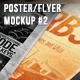 Poster & Flyer Perspective Mockup #2 - GraphicRiver Item for Sale