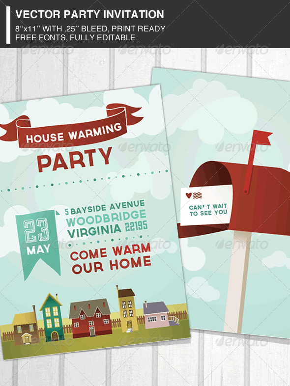 Housewarming Graphics Designs Templates From Graphicriver