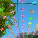 4K Many Colorful Pinwheels Spin in the Wind - VideoHive Item for Sale