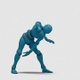 Bot Man with Dancing Hiphop 01 - VideoHive Item for Sale