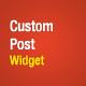 Custom Posts Widget - WordPress Premium Plugin - CodeCanyon Item for Sale
