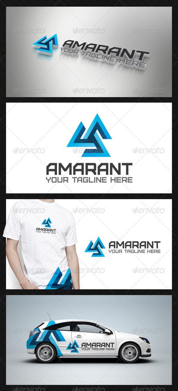 Amarant Tech Logo Template