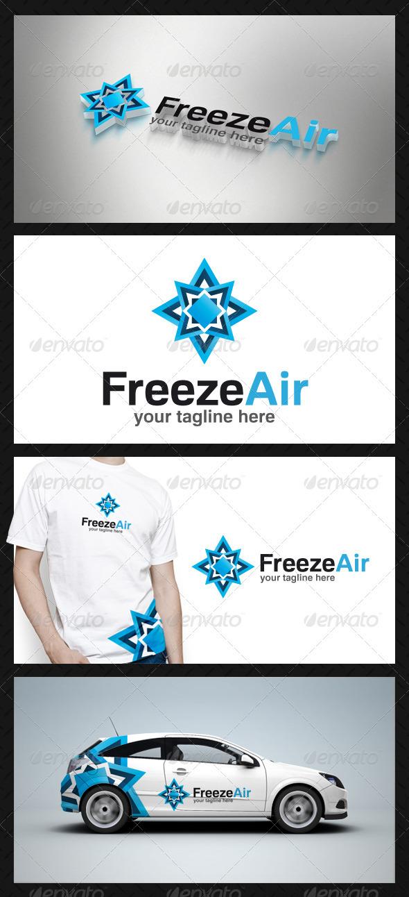 Freeze Air Logo Template
