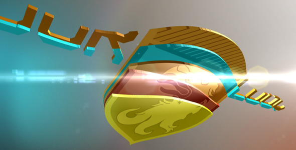 Wavy Logo Reveal
