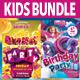 Top Kids Flyer Bundle - GraphicRiver Item for Sale