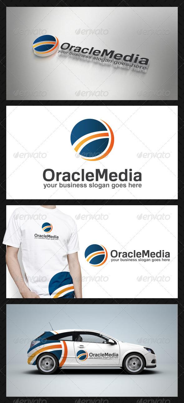 Oracle Media Logo Template