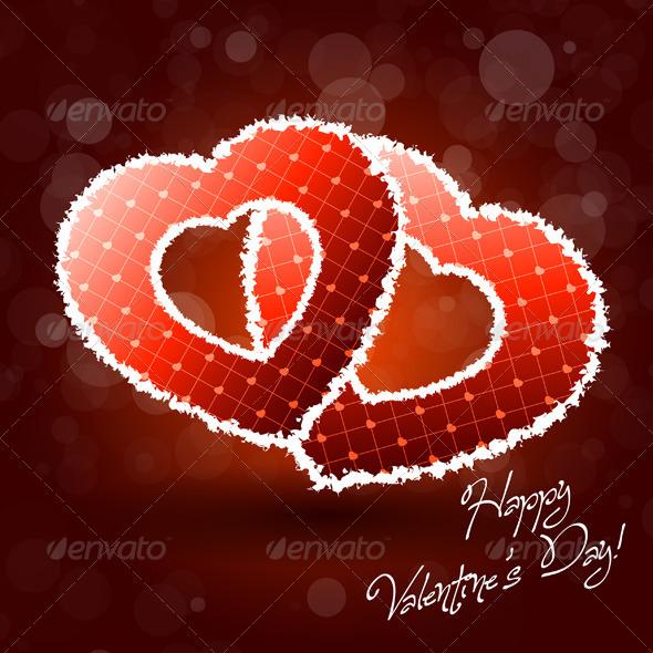 Pair of Valentine Hearts